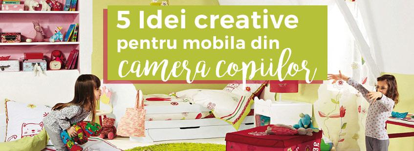 mobila din camera copiilor, mobilier Cluj, idei,