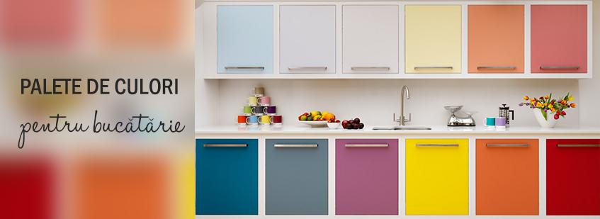 Paleta de culori bucatarie