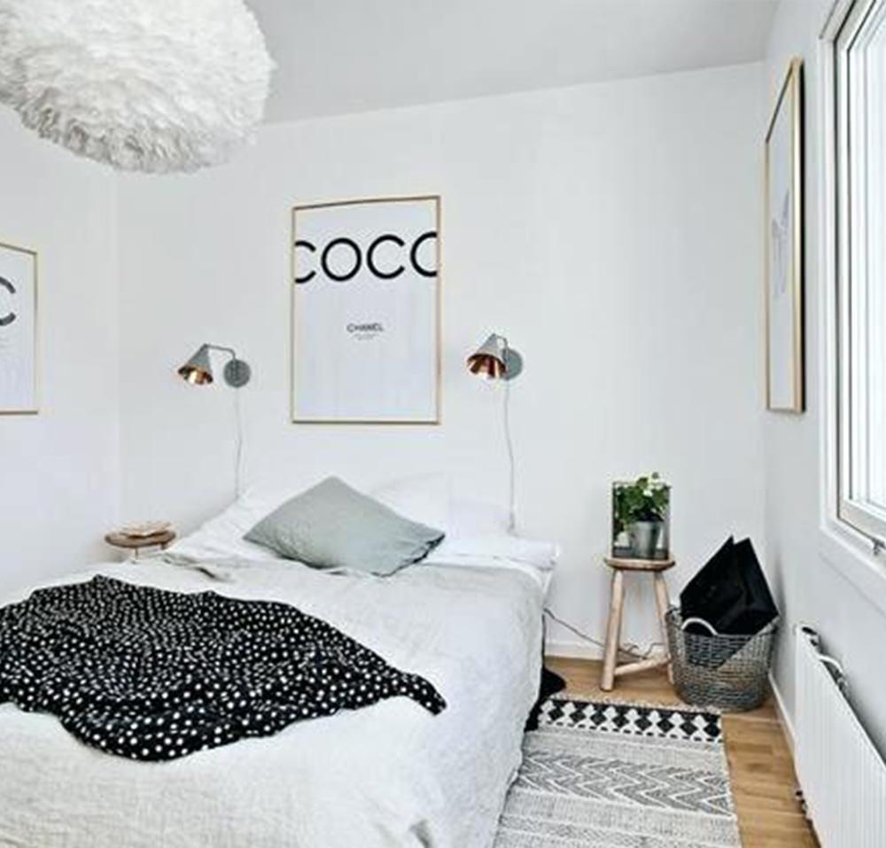 Dormitorul in stil scandinav amenajare in 4 pasi