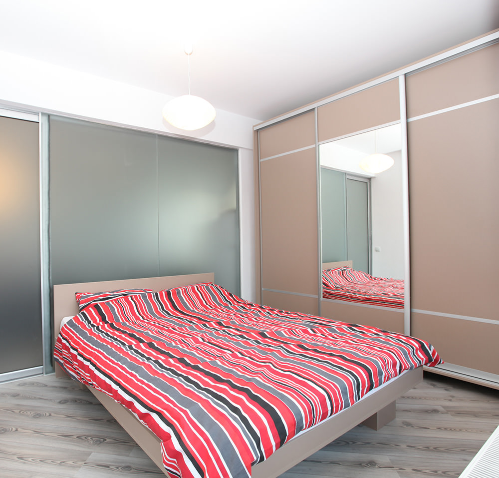 Dormitorul in stil scandinav